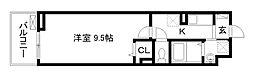 アビタシオン吉祥院[2階]の間取り