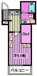 My Style vintage 大宮東[311号室]の間取り