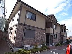 兵庫県神戸市西区伊川谷町長坂の賃貸アパートの外観