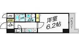 レジュールアッシュ・プレミアムツインI[2階]の間取り
