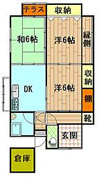 [一戸建] 鹿児島県鹿児島市宇宿3丁目 の賃貸【/】の間取り