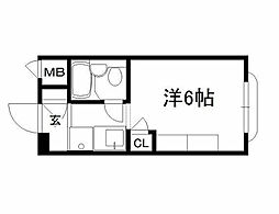 KTマンション[103号室]の間取り