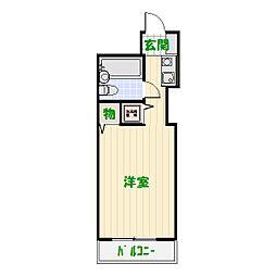 東京都葛飾区金町2の賃貸マンションの間取り