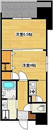 西田ビル[5階]の間取り