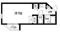 ネオディー夙川[304号室]の間取り