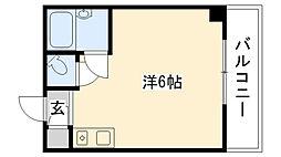 LL甲子園ビル[206号室]の間取り