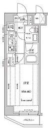 東京メトロ半蔵門線 住吉駅 徒歩15分の賃貸マンション 4階1Kの間取り