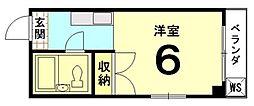 吉田マンション[403号室]の間取り