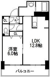 ティアラタワー中島倶楽部(III)[32階]の間取り