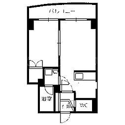 北海道札幌市中央区北三条西20丁目の賃貸マンションの間取り