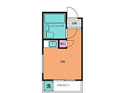 クリスタル阿佐ヶ谷パートI[4階]の間取り