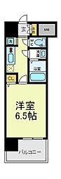 ふぁみ〜ゆ天王寺2[4階]の間取り