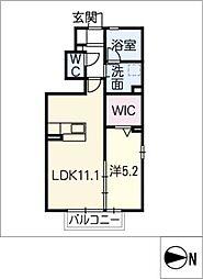 仮)D−room道場山町[1階]の間取り