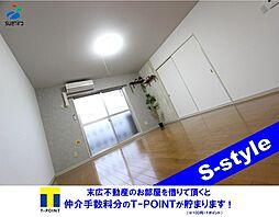 デュオ・サクライ 床暖房[3階]の外観