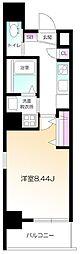仮)南麻布2丁目プロジェクト 3階1Kの間取り