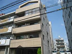 広島県広島市中区南竹屋町の賃貸マンションの外観