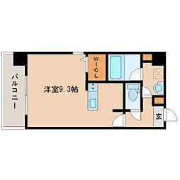 兵庫県尼崎市杭瀬北新町4の賃貸マンションの間取り
