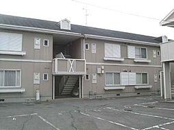 フレグランス阪南B[1階]の外観