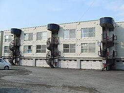 北海道札幌市清田区北野四条3丁目の賃貸アパートの外観