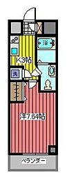 アルファコート西川口6[7階]の間取り