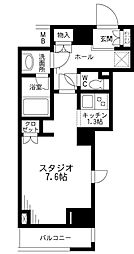 レジディア九段下[8階]の間取り