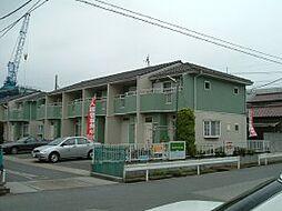 埼玉県三郷市栄の賃貸アパートの外観