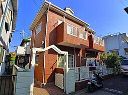 東京都足立区栗原2の賃貸アパートの外観