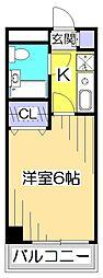 リベール国分寺[5階]の間取り