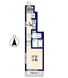 フレア新中野[1階]の間取り