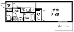 FStyle(エフスタイル)寿町[203号室号室]の間取り