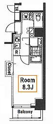 森下レジデンス壱番館[5階]の間取り