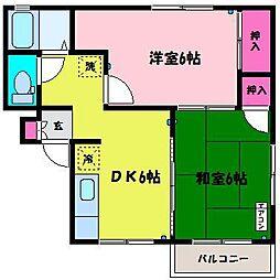 Doppo[2階]の間取り