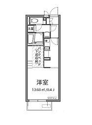 ミランダNOWA[1階]の間取り