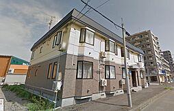 北海道札幌市東区北十四条東3丁目の賃貸アパートの外観