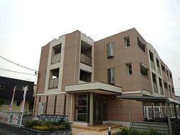 群馬県高崎市中居町4丁目の賃貸マンションの外観