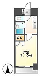 ヒサゴハイツI[1階]の間取り