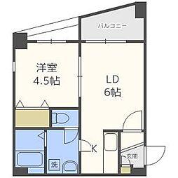 アリュール・マルヤマ[5階]の間取り