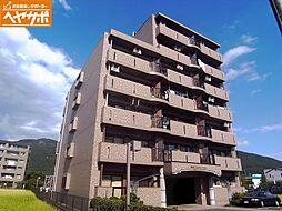 岐阜県岐阜市長良井田の賃貸マンションの外観
