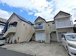 千葉県千葉市若葉区小倉台2丁目の賃貸アパートの外観