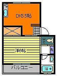 昭和ビル2[2階]の間取り