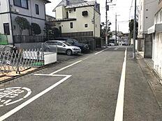 現地 前面道路