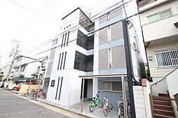 愛知県名古屋市瑞穂区西ノ割町2丁目の賃貸アパートの外観