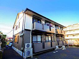 埼玉県所沢市東所沢3丁目の賃貸アパートの外観