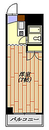メゾン狭山 203号室[2階]の間取り