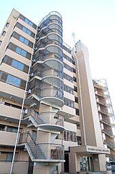 日高鹿山ハイツ[7階]の外観