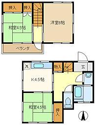 せんげん台駅 4.5万円