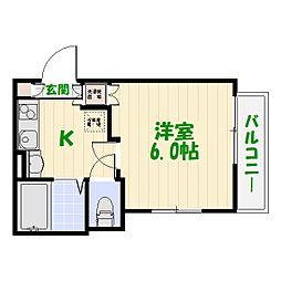 (仮称)亀有計画[0102号室]の間取り
