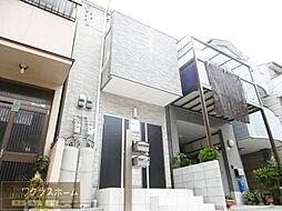 大阪府堺市北区奥本町1丁の賃貸アパートの外観