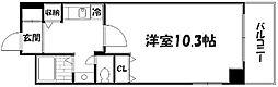 京都府京都市山科区椥辻池尻町の賃貸マンションの間取り