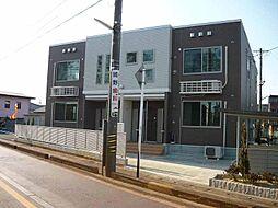 富山県富山市四方字茶園の賃貸アパートの外観